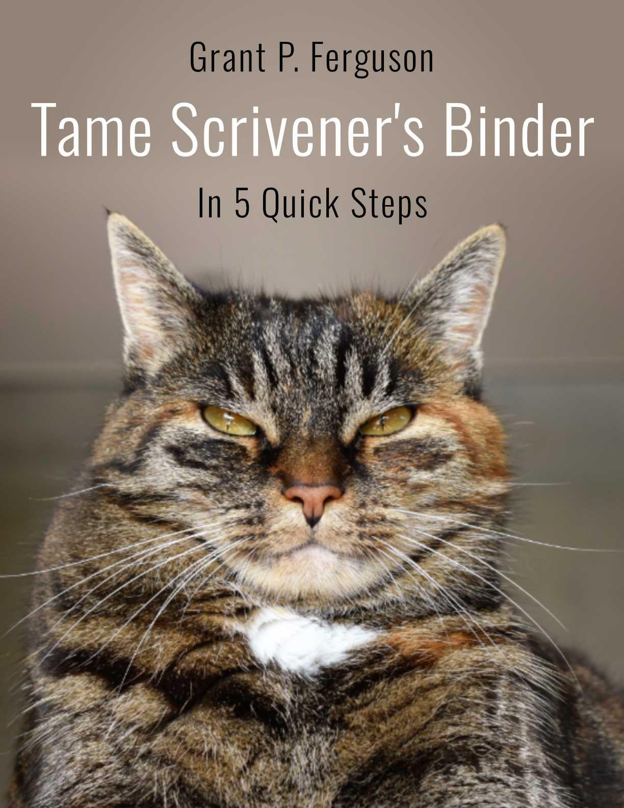 Tame Scrivener's Binder