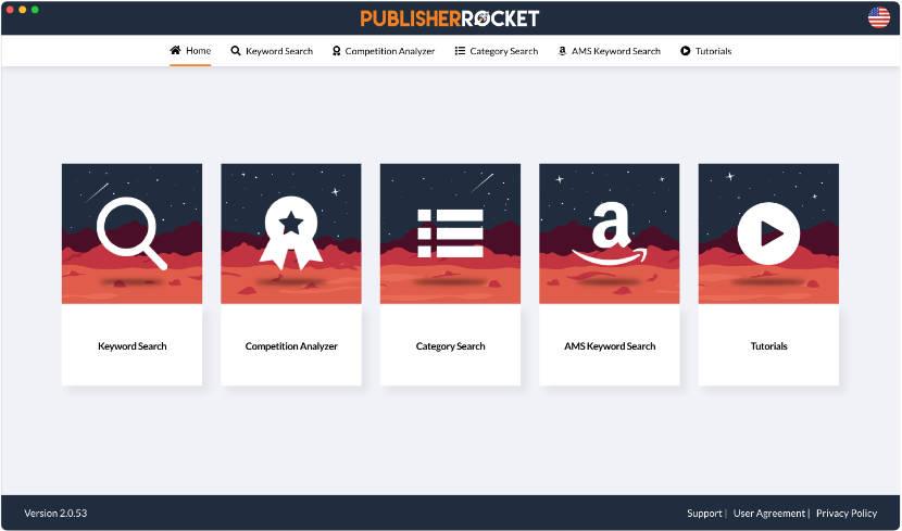 PublisherRocket Screen